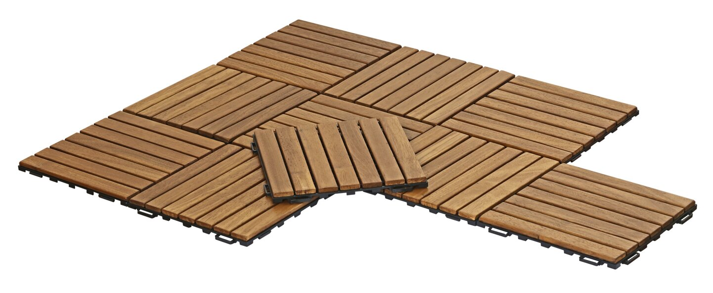 Furinno tioman outdoor floor 118 x 118 wood interlocking deck tioman outdoor floor 118 x 118 wood interlocking deck tiles in dailygadgetfo Gallery