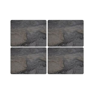 Midnight Slate Placemats Set Of 4