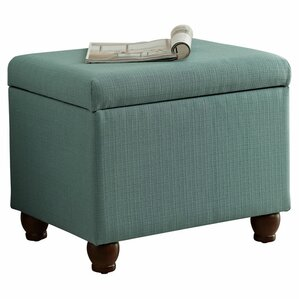 Birmingham Upholstered Storage Cube Ottoman by Andover Mills