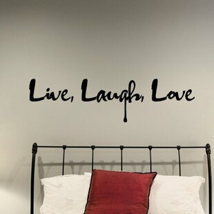 Captivating Delray Graffiti Live Laugh Love Wall Decal