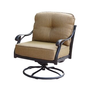 Lincolnville Rocker Swivel Recliner Patio Chair With Cushions Set Of 4