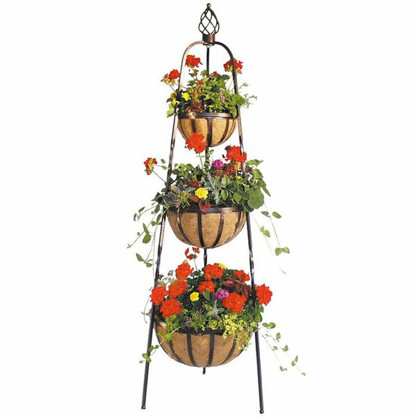 Bicycle Outdoor Planter Stands Youll Love Wayfair