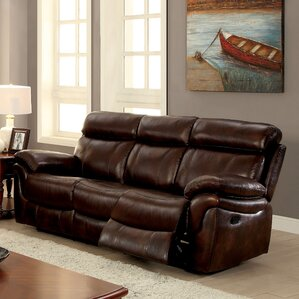 Champine Leather Reclining..