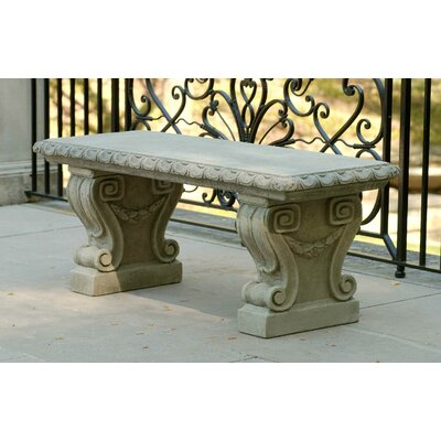Cast Stone Amp Concrete Outdoor Benches You Ll Love Wayfair Ca