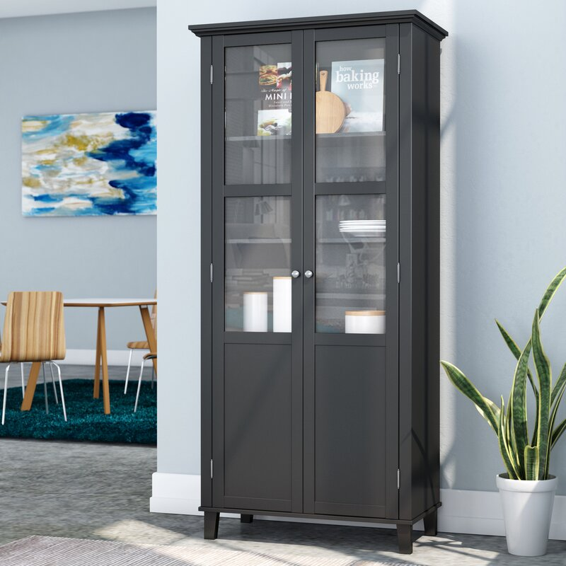 Zipcode Design Bowe Hamilton 2 Door Storage Accent Cabinet
