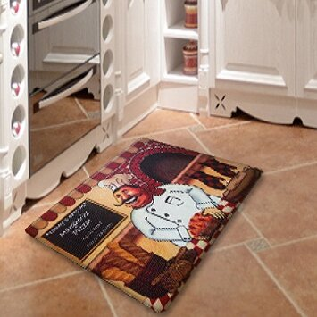 Superieur Chef Direct Printing Anti Fatigue Kitchen Mat