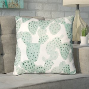 Bissett Prickly II Indoor/Outdoor Throw Pillow