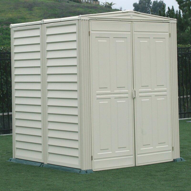 yardmate vinyl shed 5 ft 6 in w x 5 ft 6 in
