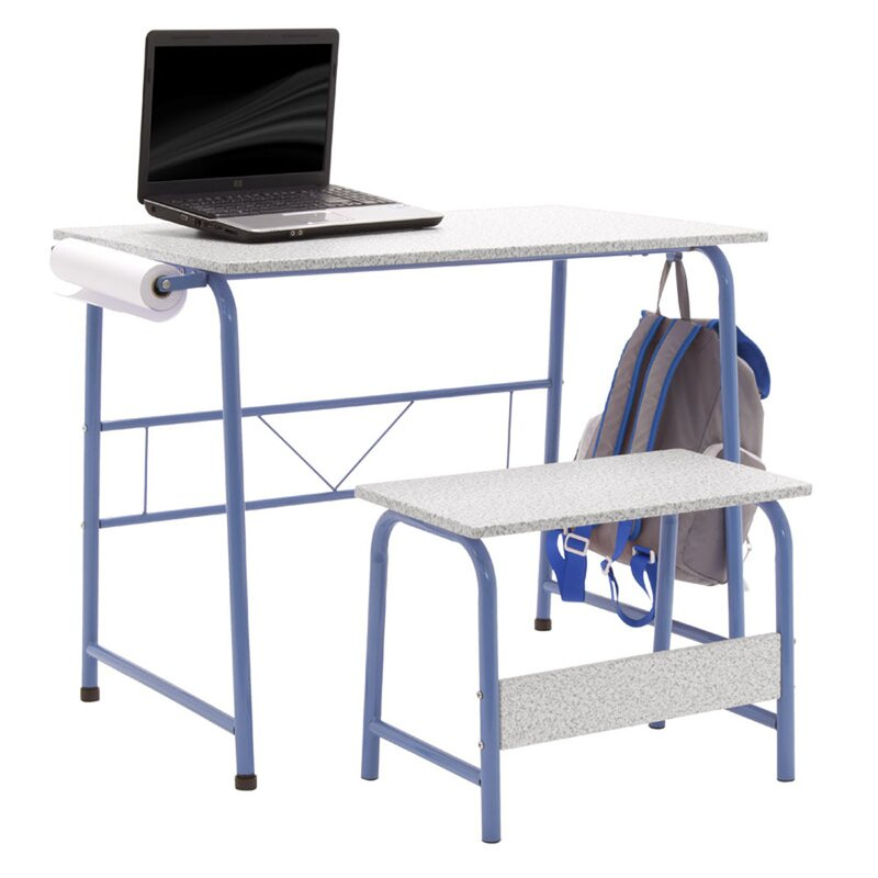 Project Center Kids Craft Table With Bench
