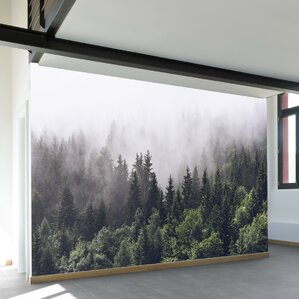 "Misty Forest 11.6' x 96"" Wall Mural"