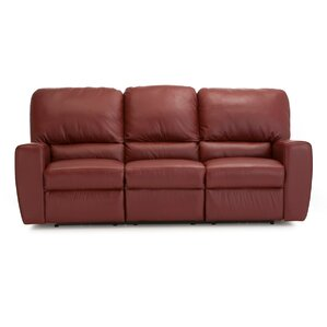 San Francisco Leather Reclining Sofa by Palliser Furniture