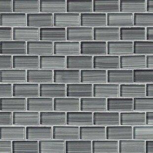Winter Brick 1 X 2 Gl Tile In Gray