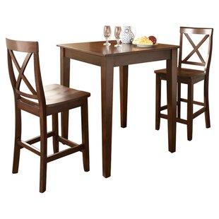 Haslingden 3 Piece Pub Table Set