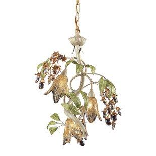 Oyster shell chandelier wayfair evelyne 3 light seashell mini chandelier aloadofball Image collections