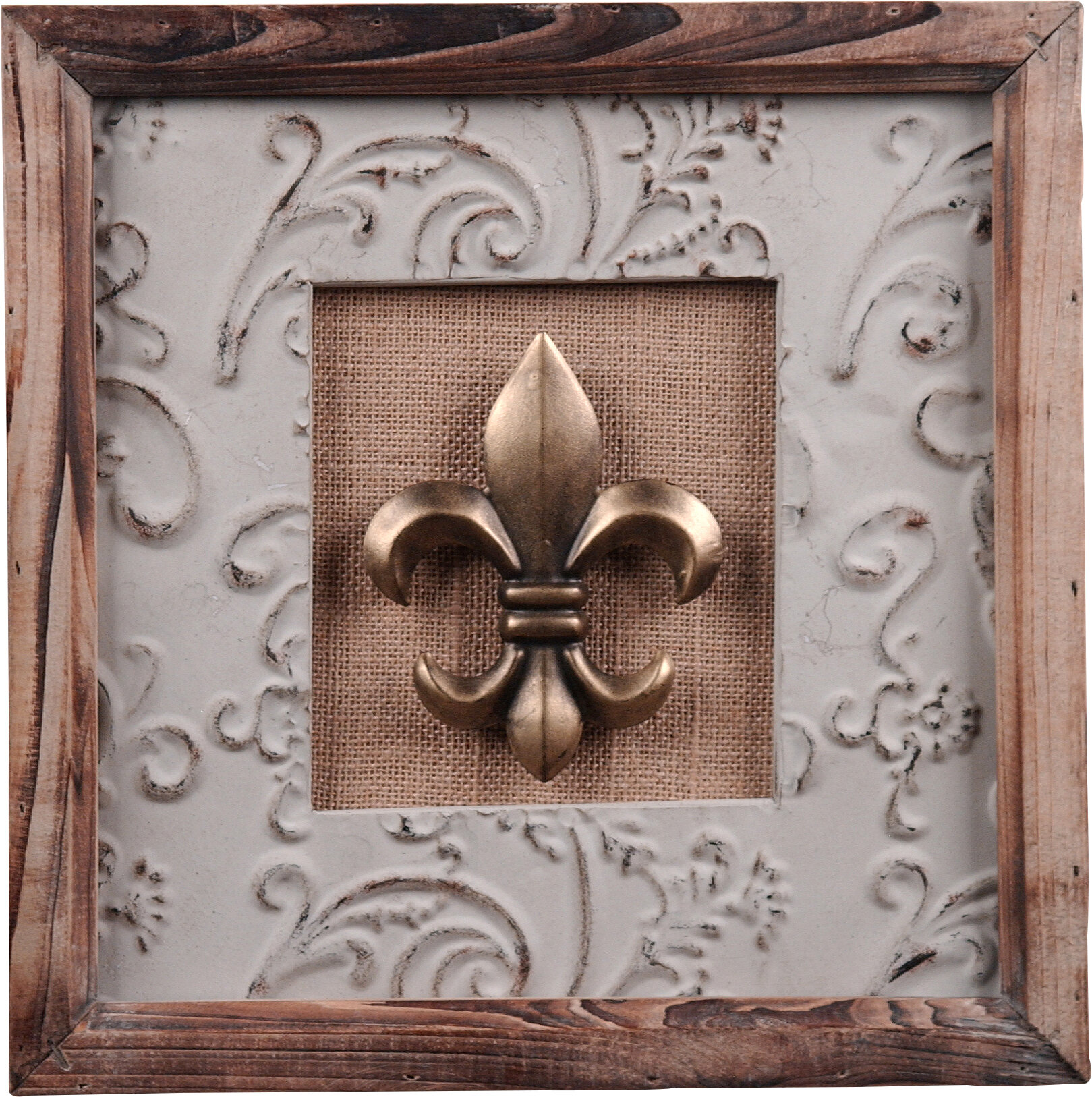 Wilco Home Decor: Wilco Home Wood And Metal Wall Décor