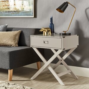 Modern Bedroom End Tables modern & contemporary end & side tables you'll love | wayfair
