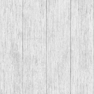 Kitchen Bathroom 10m L X 64cm W Wood Roll Wallpaper