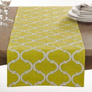 Dastan Stitched Lattice Table Runner