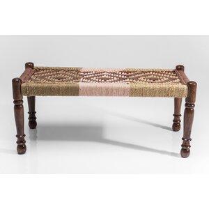 Schlafzimmerbank Gobi aus Holz von KARE Design