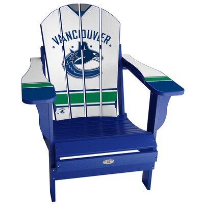 NHL Jersey Adirondack Chair