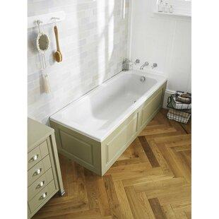 Ascott 170cm x 75cm Freestanding Soaking Bathtub by Hudson Reed