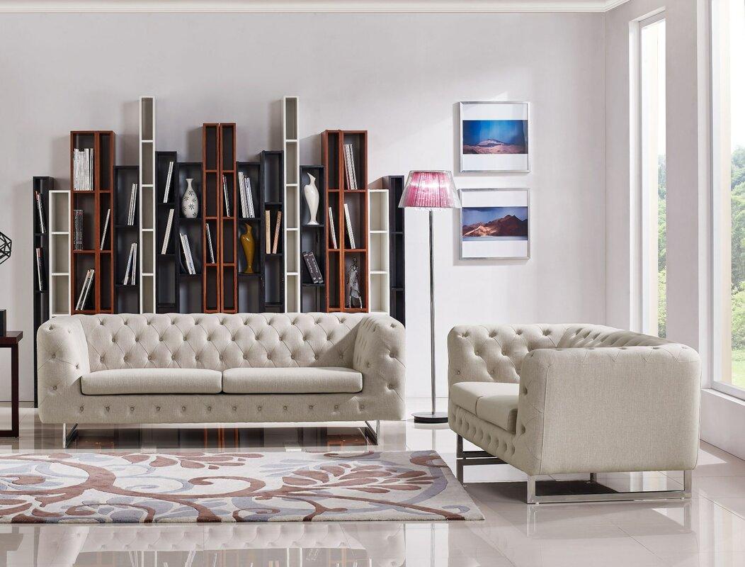 Rosdorf Park Enya Configurable Living Room Set Reviews