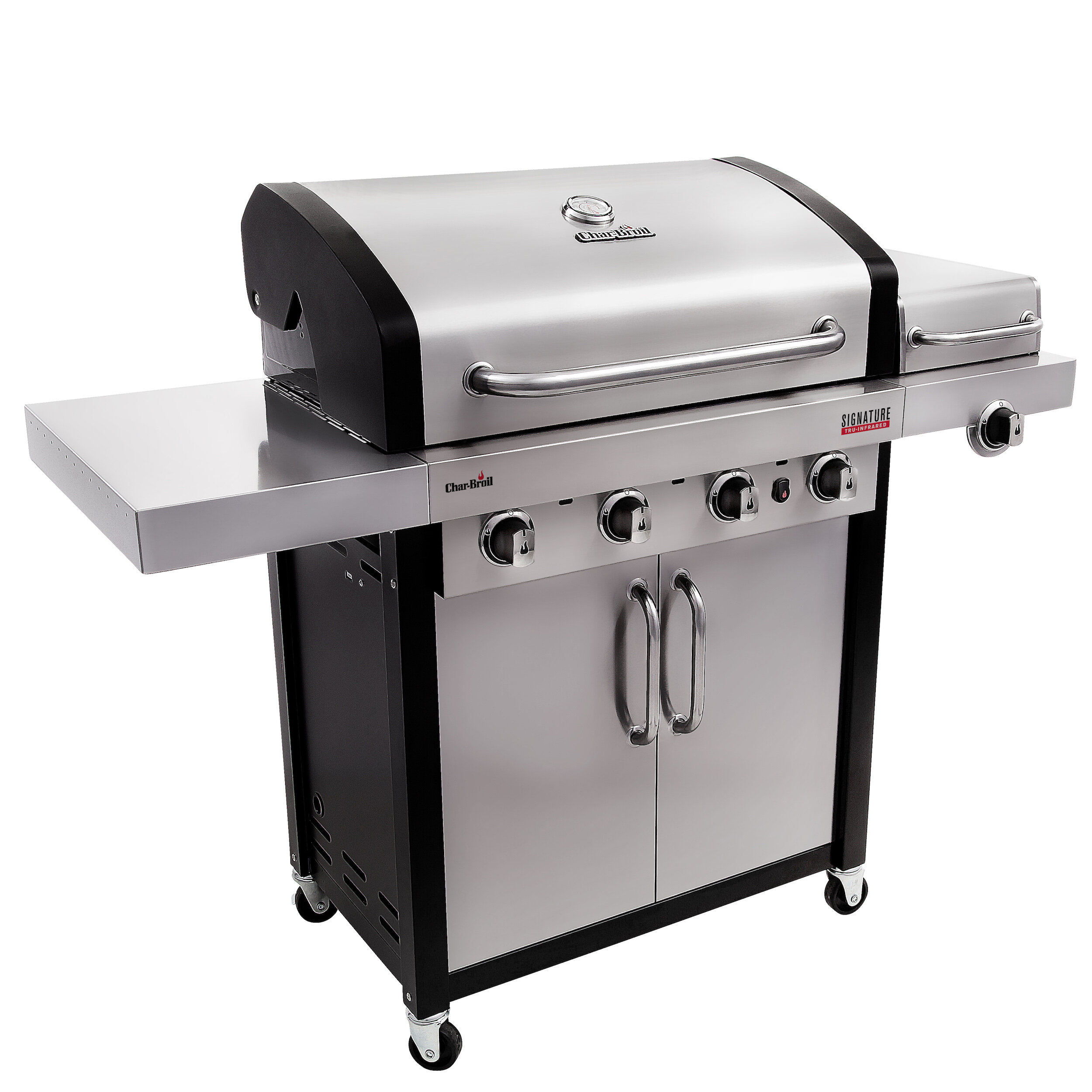 broil garden char ca amazon infrared performance grill dp tru burner patio bistro cart lawn gas