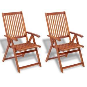 2-tlg. Klappbares Gartenstuhl-Set von dCor design