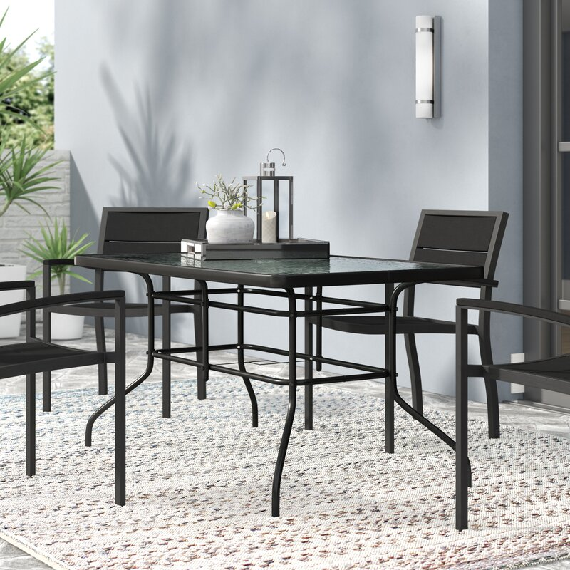 Aula Glass Dining Table