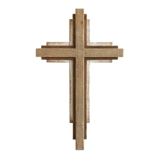 Wood Cross Wall Décor