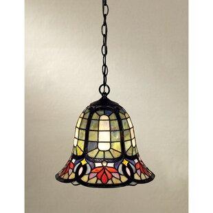 Mini tiffany pendant lights wayfair tadler 1 light tiffany pendant aloadofball Gallery