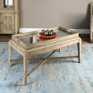Woodhaven Coffee Table by Rosecliff Heights
