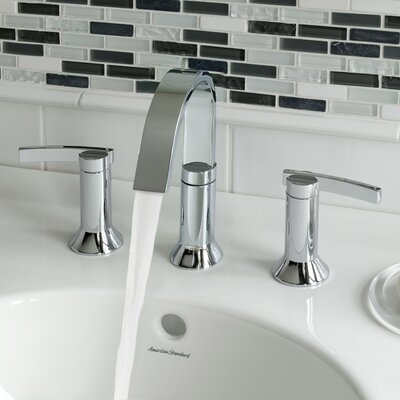 Berwick High Arc Widespread Bathroom Faucet With Speed Connect Drain American Standard Finish: Polished Chrome