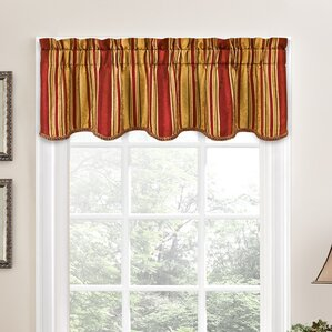 Window Valances Caf Kitchen Curtains You Ll Love Wayfair