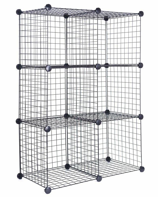 Rebrilliant Storage Clothes Organizer Metal/Wire Cube or Bin ...