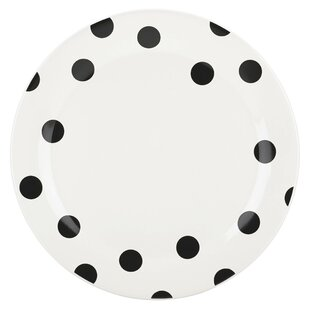 All in Good Taste Deco Dot Dinner Plate  sc 1 st  Wayfair : spotty dinner plates - pezcame.com