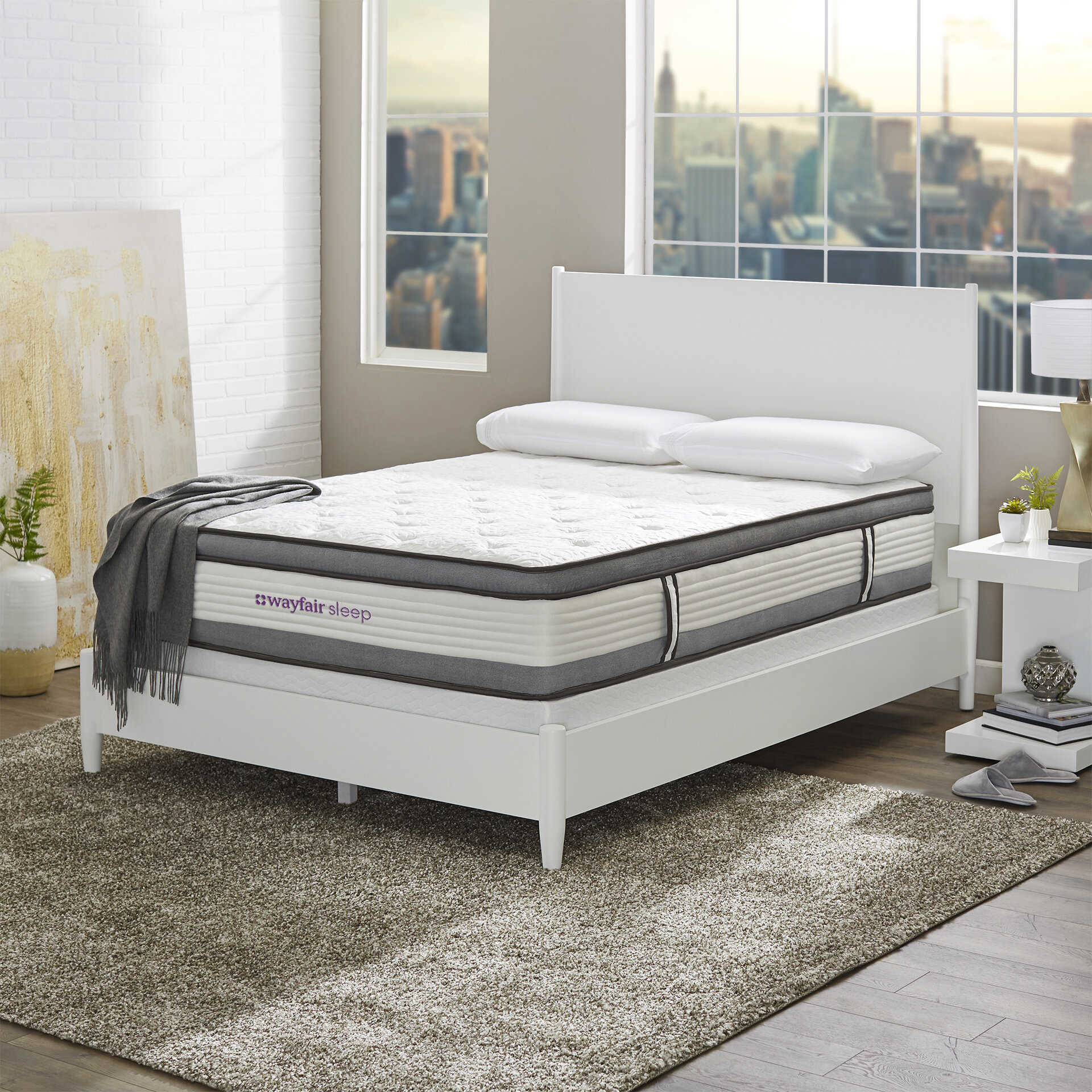 Wayfair Sleep 12 Medium Hybrid Mattress Reviews