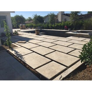 Bon Nysa Tumbled Travertine Paver In Tan