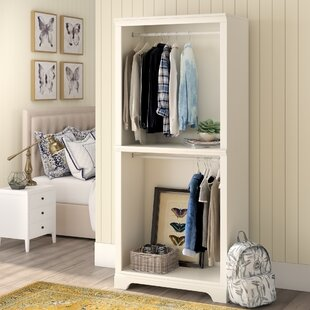 Parks 36 W Solid Wood Freestanding Closet System