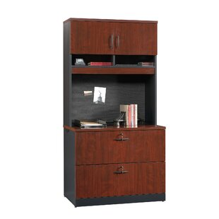 Castalia 2 Drawer Lateral Filing Cabinet With Hutch