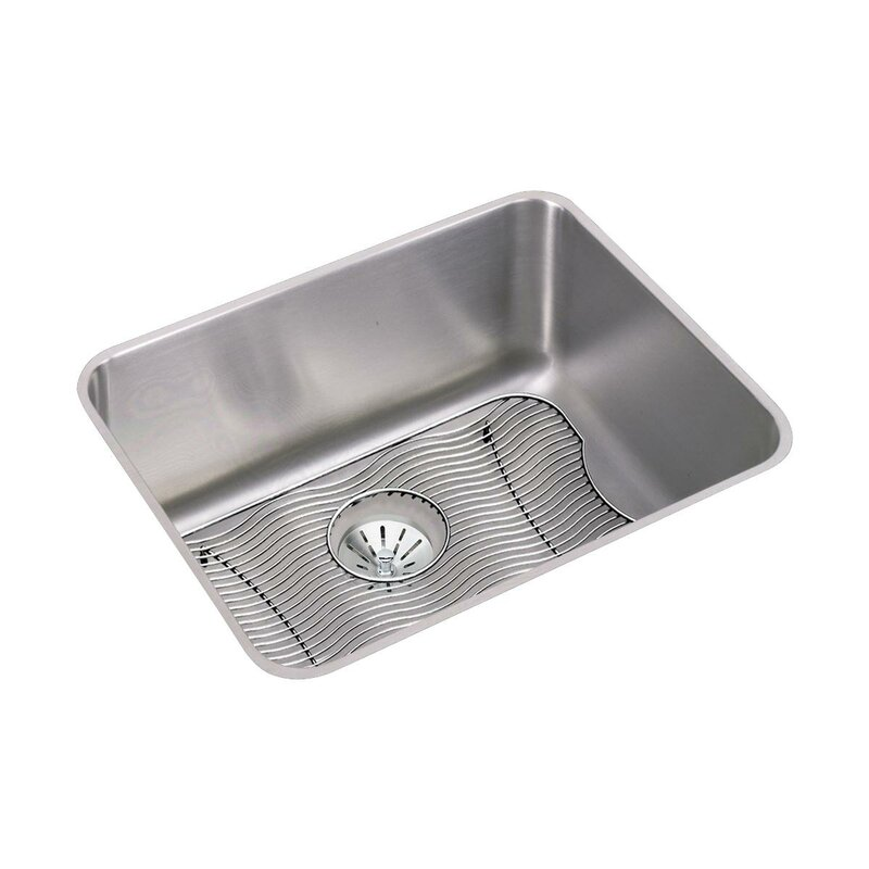Ertone 24 L X 18 W Undermount Kitchen Sink With Grid And Drain