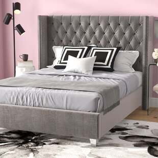 King Size Upholstered Beds Youll Love Wayfair