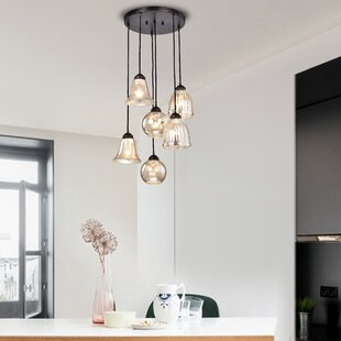 Ordinaire Psyche 6 Light Cluster Pendant