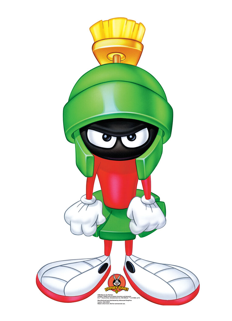 Advanced Graphics Looney Tunes Marvin The Martian Standup