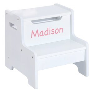 Expressions Personalized Step Stool by Guidecraft