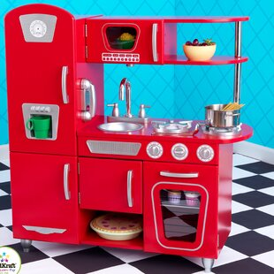 Red Play Kitchen Sets Accessories You Ll Love Wayfair