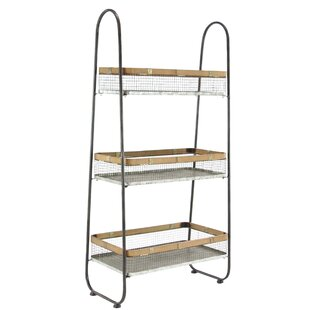 Charmant Industrial 3 Tier Basket Stand