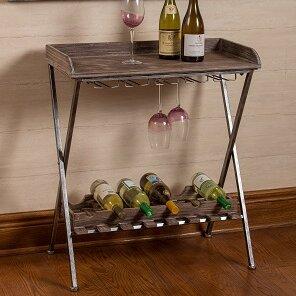 Hoylake 6 Bottle Floor Wine Rack