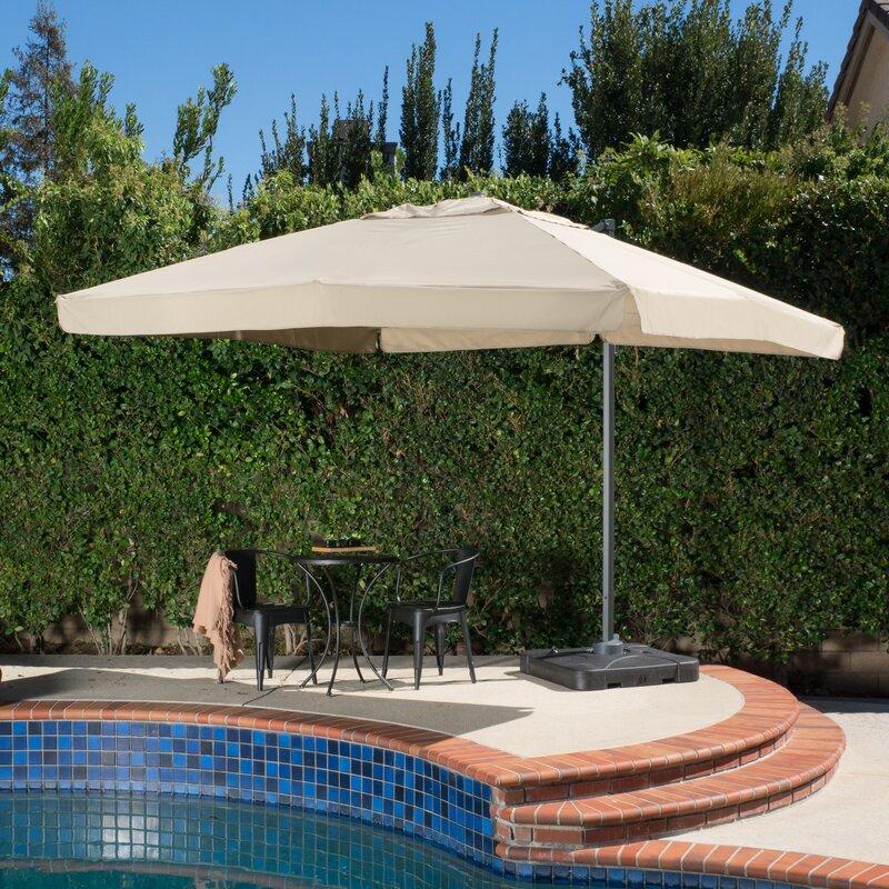 mendon 98 square cantilever umbrella - Cantilever Patio Umbrellas