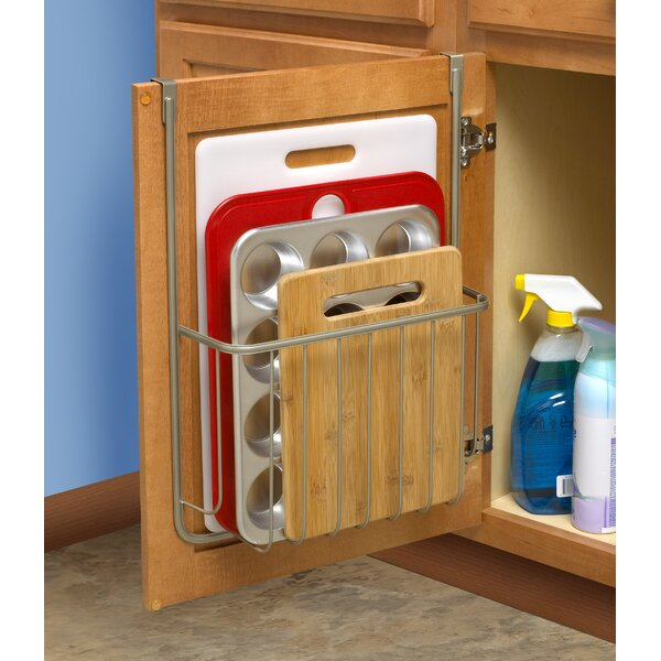 Over The Cabinet Cutting Board And Bakeware Holder